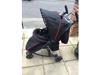 Ladybird design buggy/stroller from birth