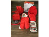 Stokke xplory V3 style kit and accessories, mint condition.