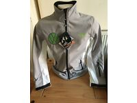 ladies outdoor jacket with VW embroidered badge