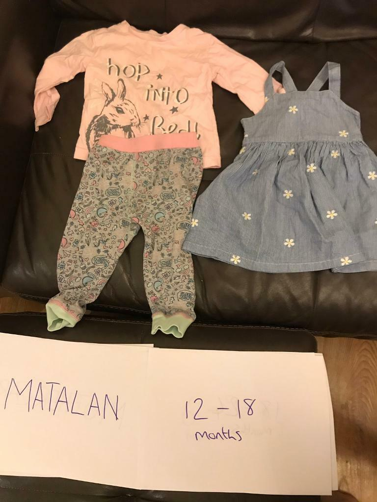 Matalan Baby Girl Bundle 0-3 Bundles Clothes, Shoes & Accessories