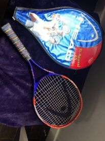 4 tennis rackets. Used but in good condition
