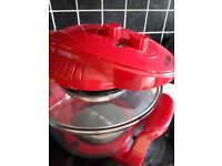 Cookshop Halogen Oven with Hinged Lid