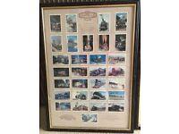 Castella cards Steam Train picture