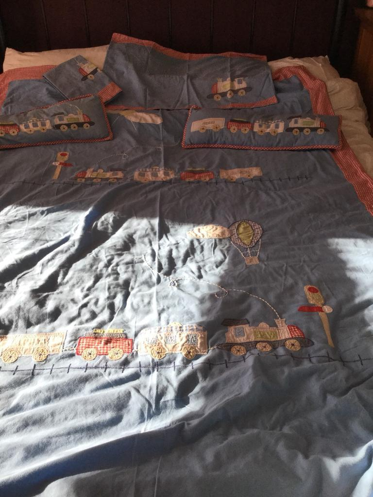 Boys Laura Ashley Duvet Cover Sets With Curtains And Lampshade