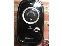Samsung bagless vacuum cleaner 1800W