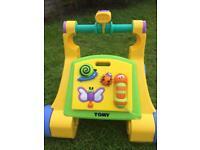 Tomy baby walker