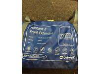 Outwell montane 6 front extension