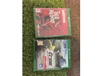 Two Xbox one games £25 for both