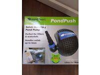 Pond expert pump and filter set