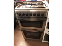 50CM STAINLESS STEEL INDESIT GAS COOKER