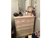 Shabby chic chest of draws