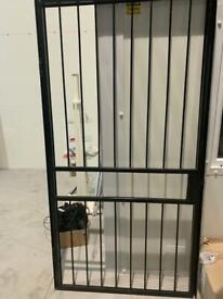Security Gate/Door Heavy Duty 101cm x 216cm**As New**