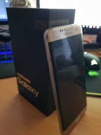 Gold Platinum Galaxy S7 Edge. 32GB - Unlocked to any carrier