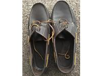 Next moccasin deck shoes size 11.5 in vgc