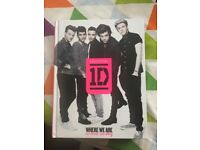One direction signed book
