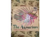The Aquarium adult colouring book