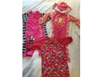 Girls swimsuit aged 3-4