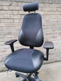Bennett Workplace ZentoSmart Fully Adjustable Ergonomic Office Chair.Better than Herman Miller