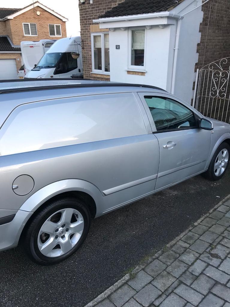 Vauxhall Astra van 1.7 sportive 78k miles! No VAT!! | in ...