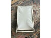 John Lewis Over Cot Changing Table With Mat