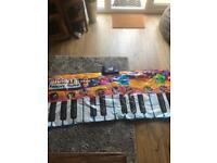 Gigantic music keyboard