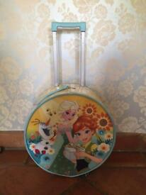 Frozen Elsa Anna and Olaf pull along travel case
