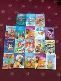 Collection of Disney books