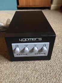 4GAMERS Woofer SPC602 amp (originally for Nintendo Gamecube)