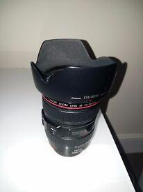 Canon 24-105 f4.0 L IS USM lens, exellent condition
