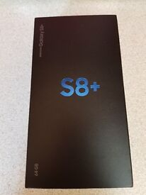 Samsung Galaxy S8+ - 64GB - Midnight Black - Vodafone - Brand New - Unopened