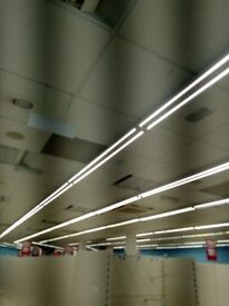 LED 6FT strip light as new (6 months old) complete with 2 tubes £20 each (100 available)