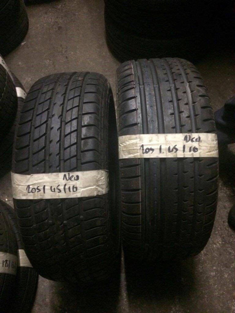 205/45/16 quality brand new tyres