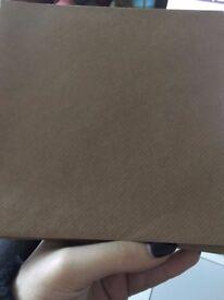 32 6x6 Brown Formal Envelopes