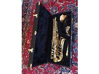 "Saxophone - Trevor James ""The Horn"" Revolution Alto Saxophone. Hardly used - as new."