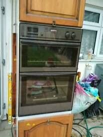 Gas oven and grill