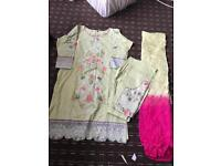Brand new fully embroidered size Large Maria b like summer collection amazing deal