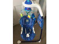 Fisher Price Aquarium Cradle Baby Swing