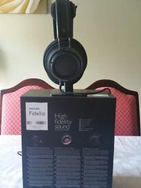 Philips Fidelio X2 High Resolution headphones - As new