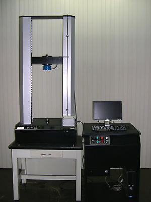 Retrofitted 10 Kn 2225 Lbf Instron 4202 Tensile Compression Tester Year Warranty