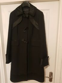 Black size 10 French Connection Coat