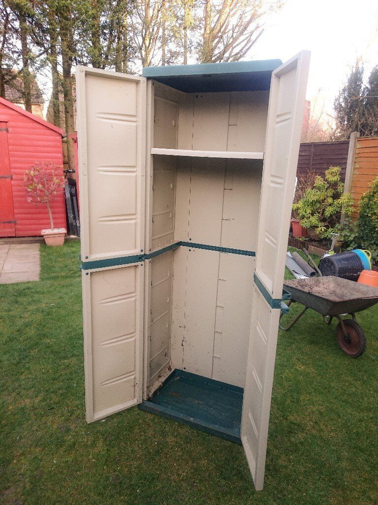 Tall Plastic Storage Shed Garden In Stevenage