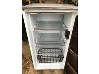 """Electrolux Small Freezer 41"""" High Outside is Rusty but works Fine"""