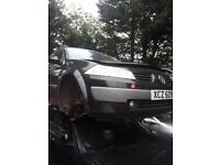 2005 renault megane 1.5 dci BREAKING FOR SPARE PARTS