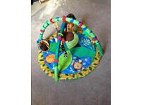 Bright Stars baby floor gym/mat