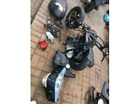 Piaggio fly 100cc parts