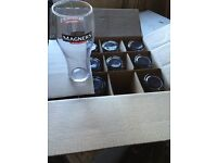 Beer ale cider pint glasses NEW 2 or more boxes Magners