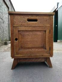 Cupboard, cabinet, side table, mid century.