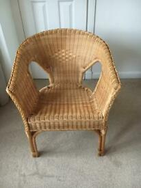 Rattan/Wicker Tub Chair (Trevett)