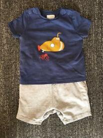 Mamas&papas baby boy clothing 6-9 months
