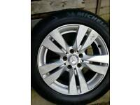 "Mercedes benz e class 4 16"" alloy wheel"